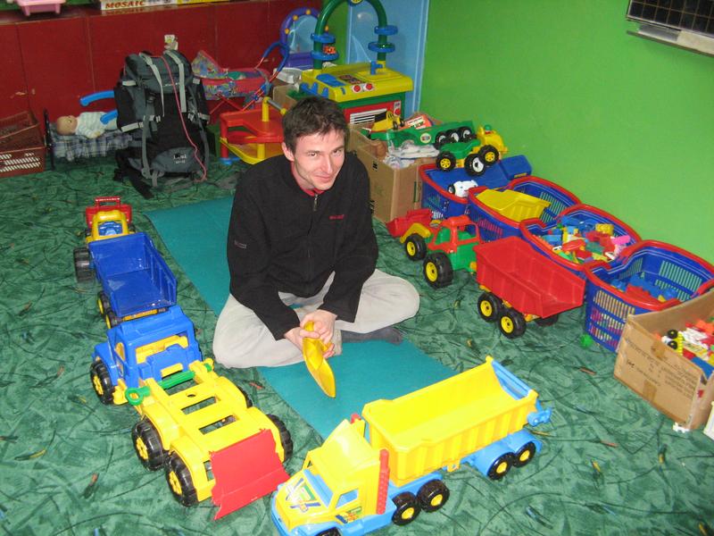 Bob w swoim parku maszynowym