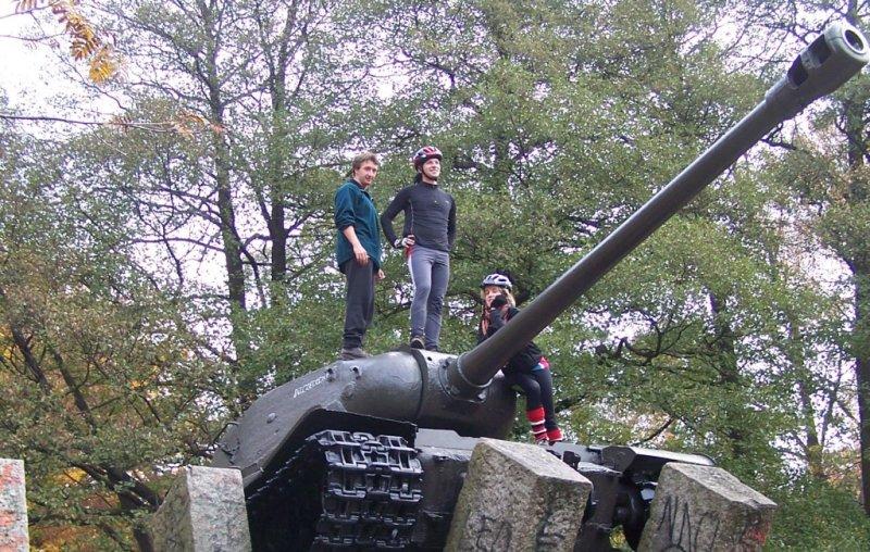 czołg w Lęborku