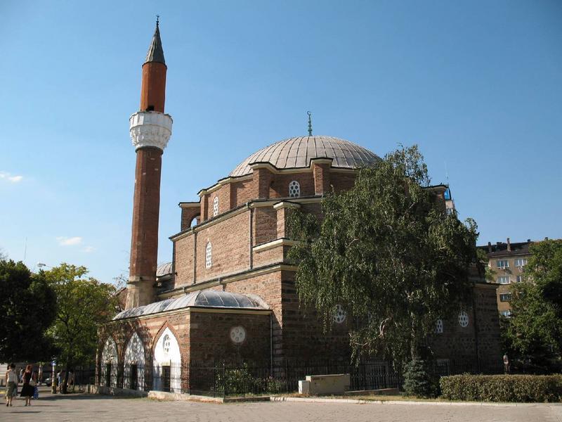 Meczet w centrum Sofii.