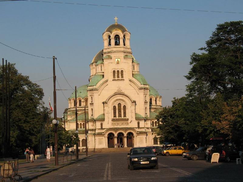 Cerkiew Aleksandra Newskiego. Najwięksiejsza cerkiew w okolicy ( jak przystało na stolicę ).