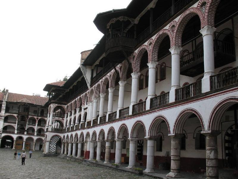 Monastyr Rilski to taka bułgarska Częstochowa.
