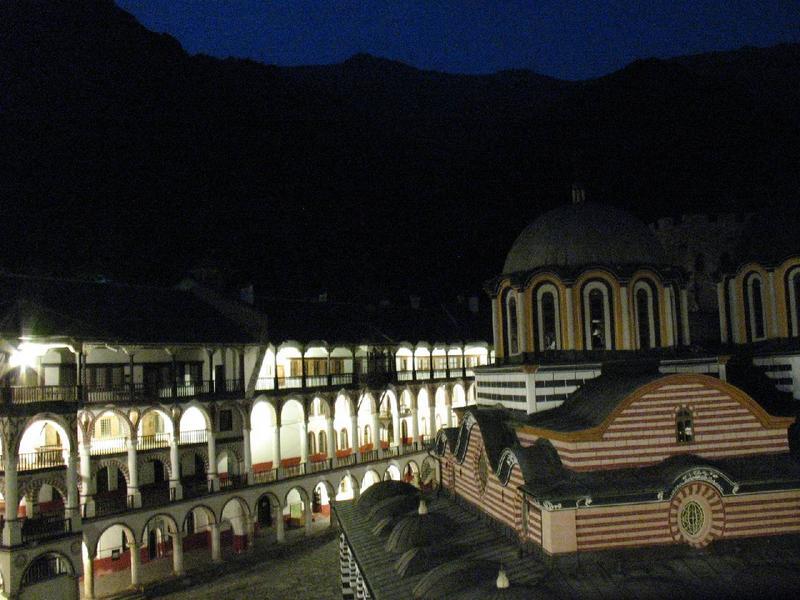 W ramach atrakcji , nocowaliśmy w monastyrze ( 20zł/os.)