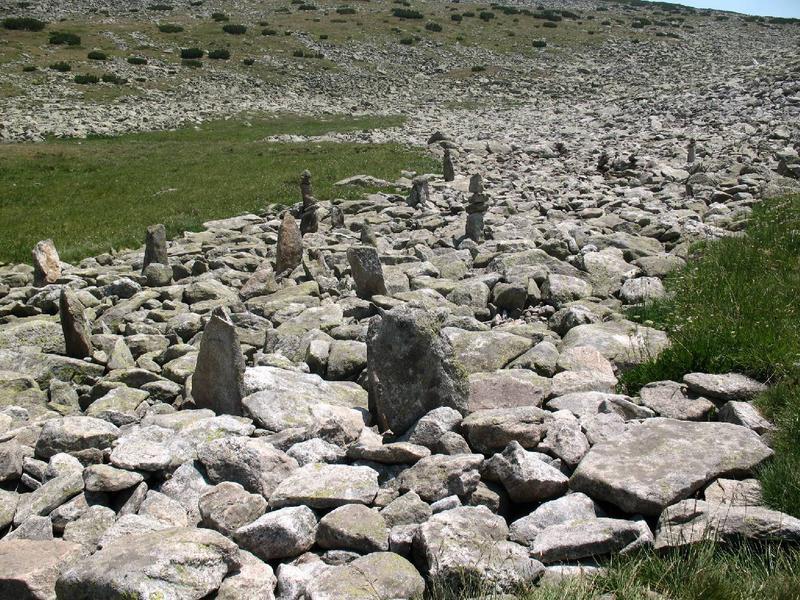 Kamienne kręgi.