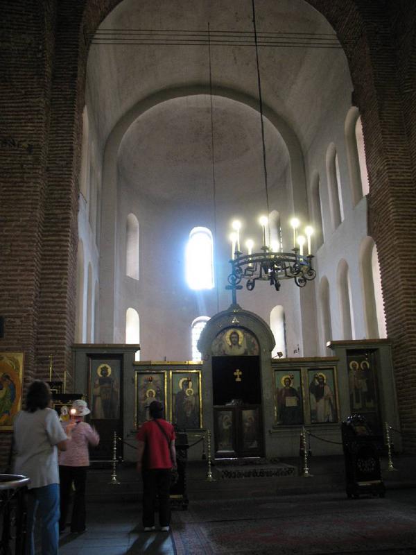 Cerkiew św.Zofii. Najstarsza w Sofii ( fundamenty IVw.)