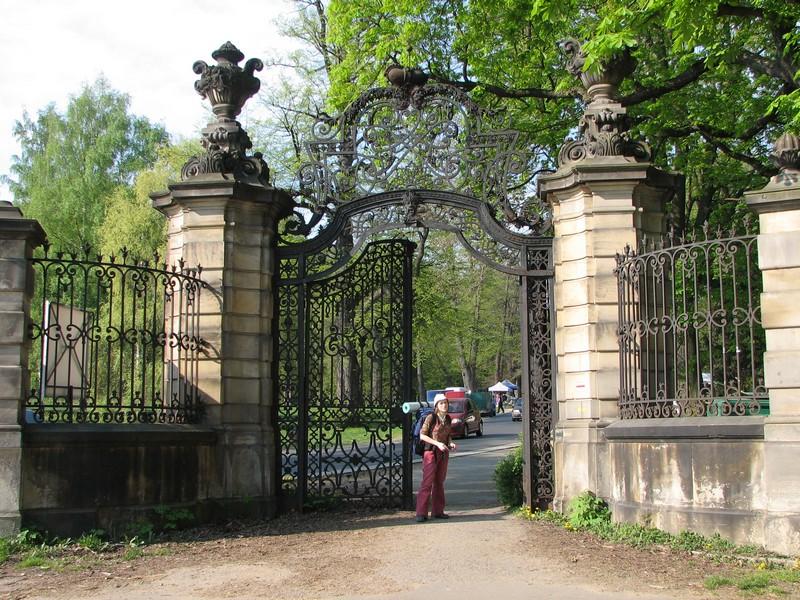 Brama zamku Książ