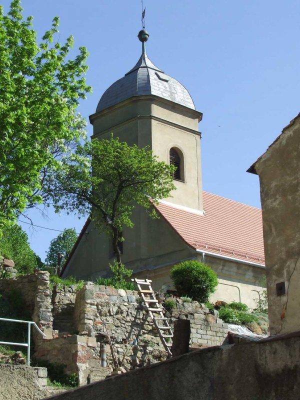 kościółek w Srebrnej Górze