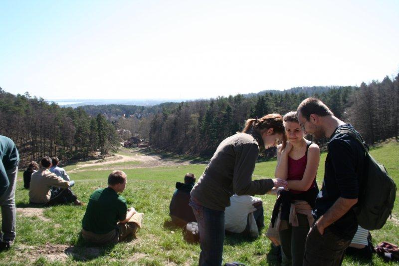Początek wycieczki i pierwszy postój - zdj. Ania Białecka