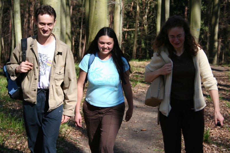 Jurek, Pamela i Ania, Zdj. Ania Białecka