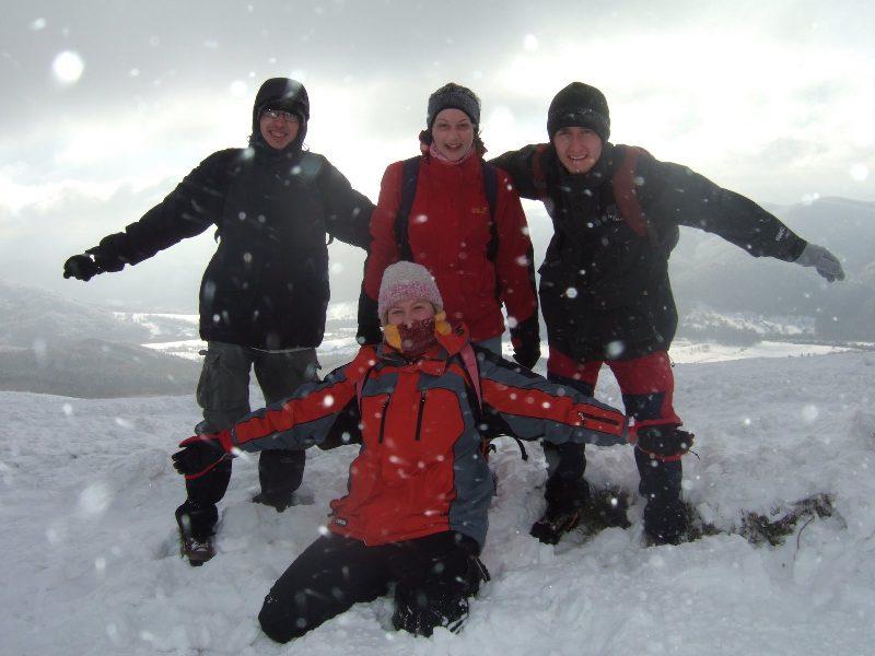 Śniegiem sypnęło, ale i tak mieliśmy odlot