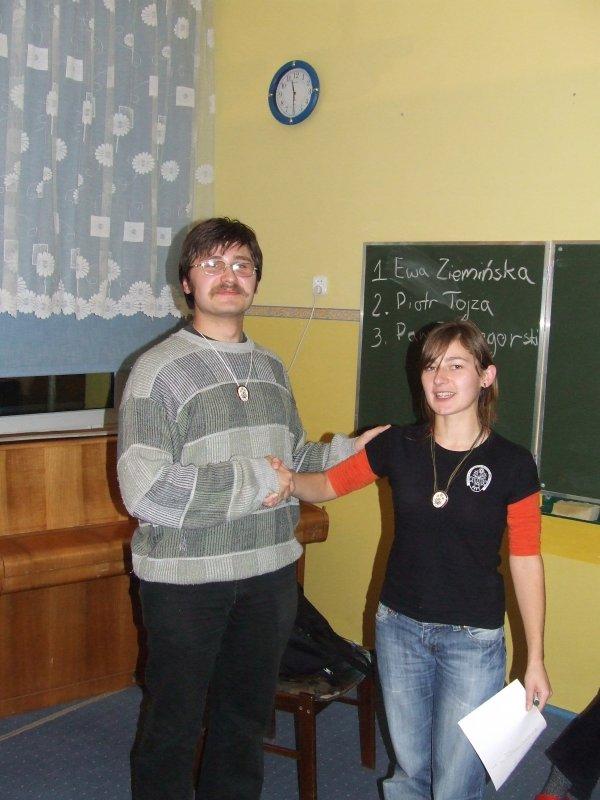 Nowy Prezes Piotr! Gratulujemy :D
