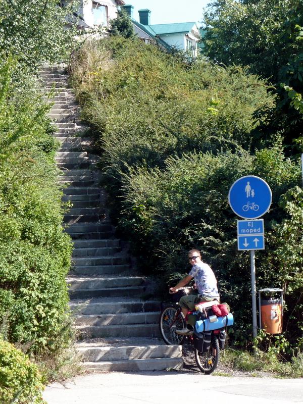 szwedzka ścieżka rowerowa