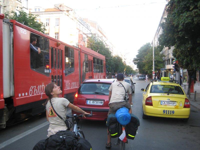 Wjazd do Sofii