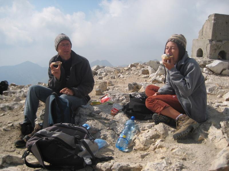Odpoczynek na szczycie