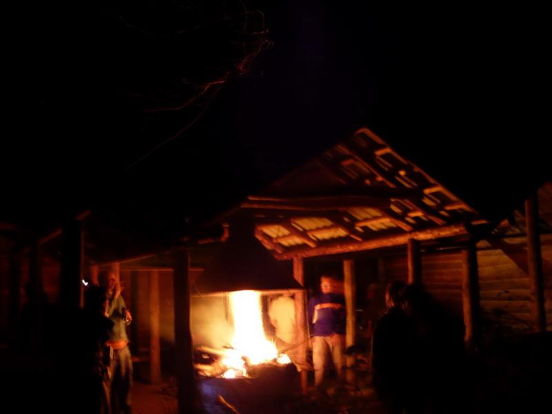 Ognicho drugie > chatka prawie poszła z dymem :D