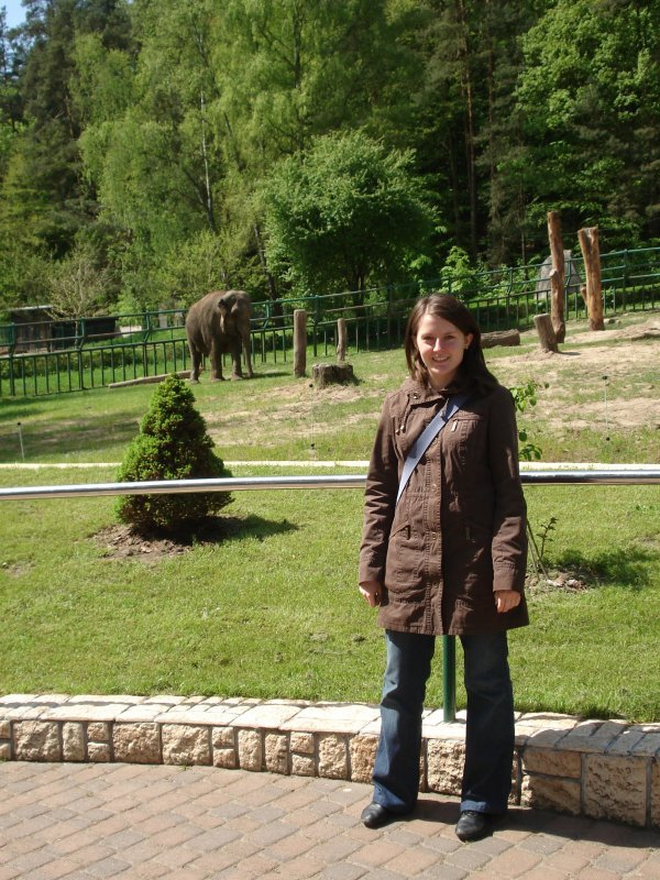 Ja, czyli Kasia i słoń