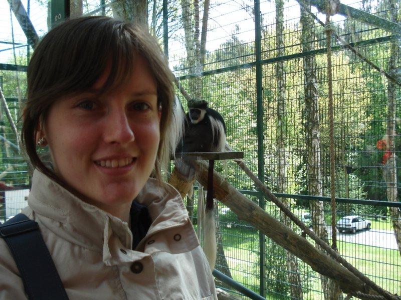 Marysia i małpka