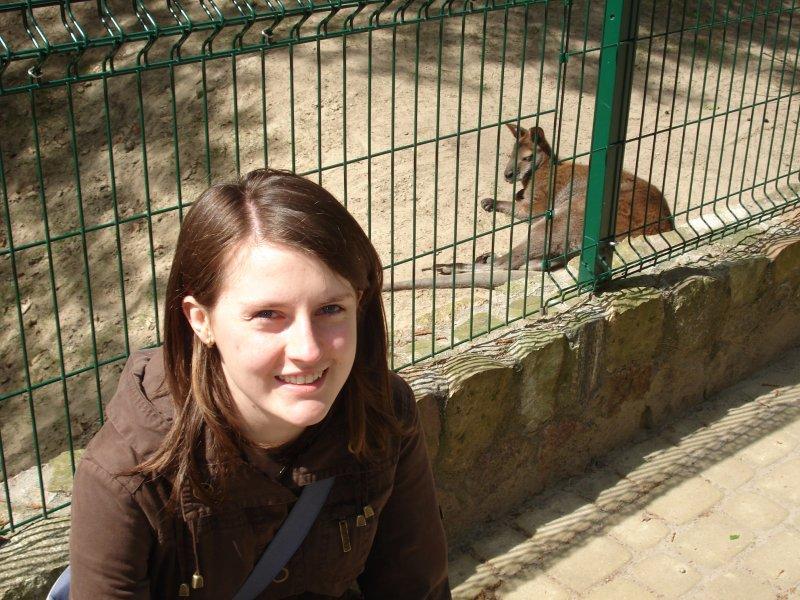 Ja, czyli Kasia i kangur