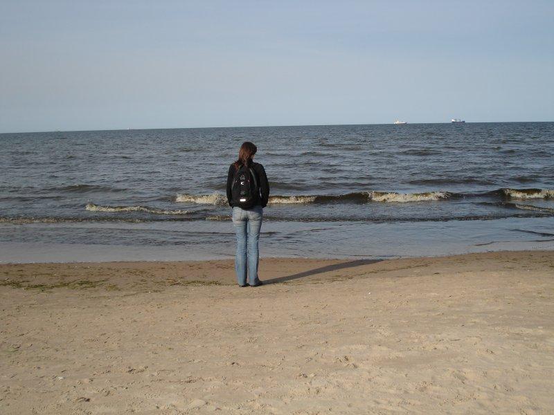 Trzecia część rajdu - morze i plaża
