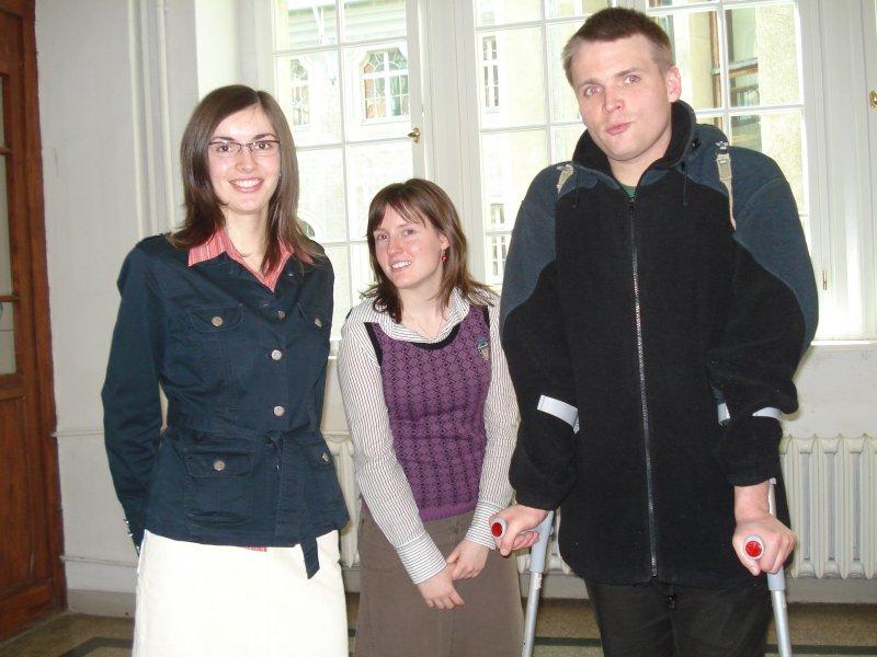 Ania, Marysia, Bartek