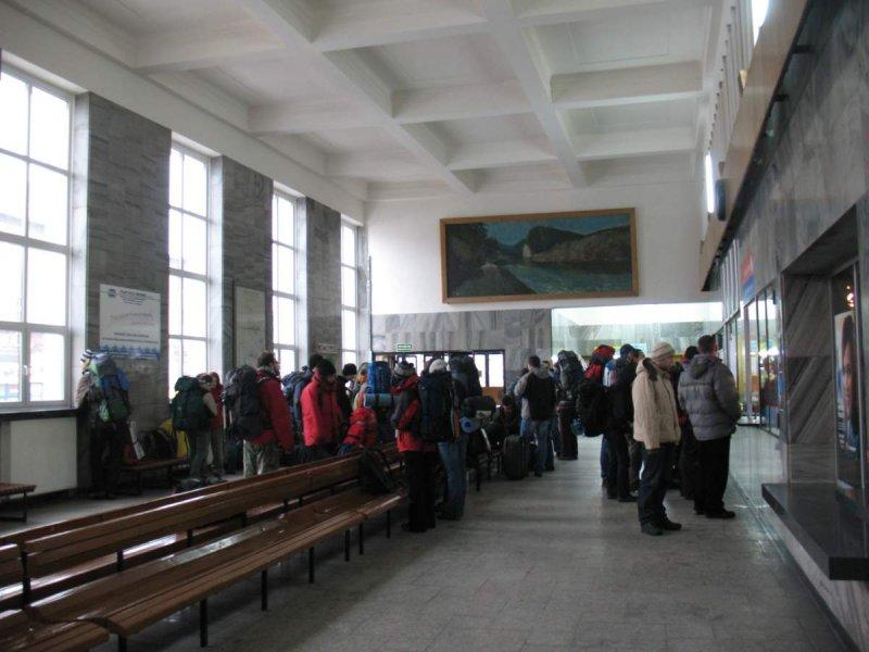 Dworzec bez przechowalni bagażu