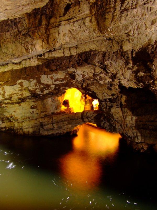 Smoo Cave w Durness