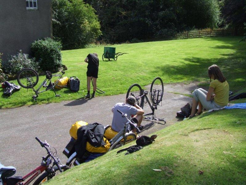 Ostatni dzień i dwa rowery ponownie odmówiły posłuszeństwa:)