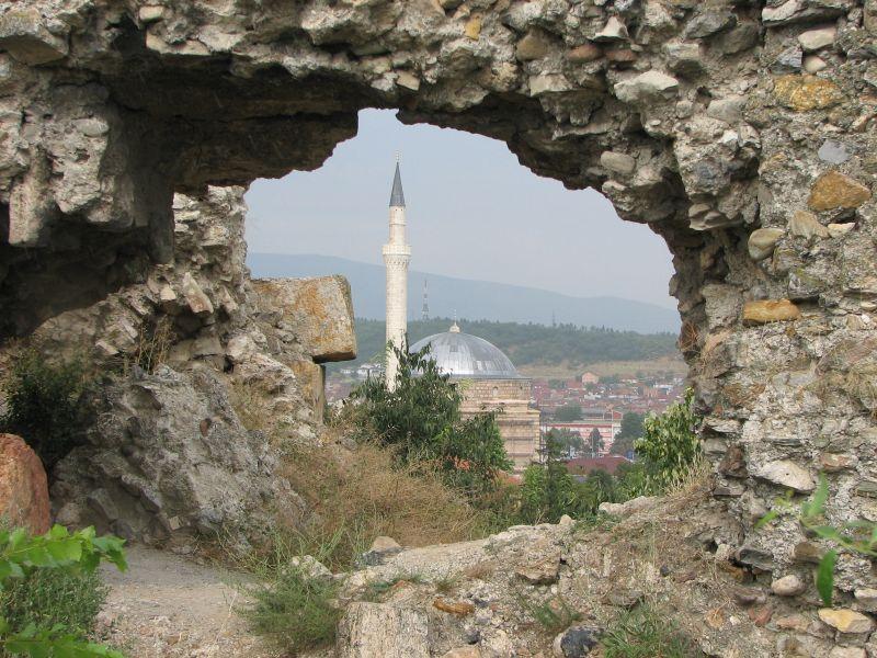 Po tamtej stronie muru...(Skopje)