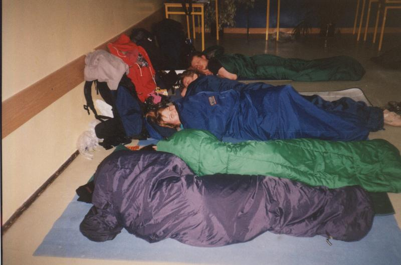 spać też poszliśmy nad ranem