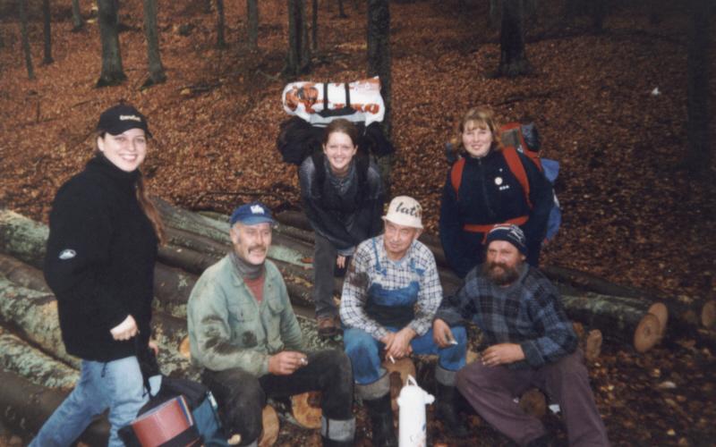 Spotkanie z leśnymi ludkami