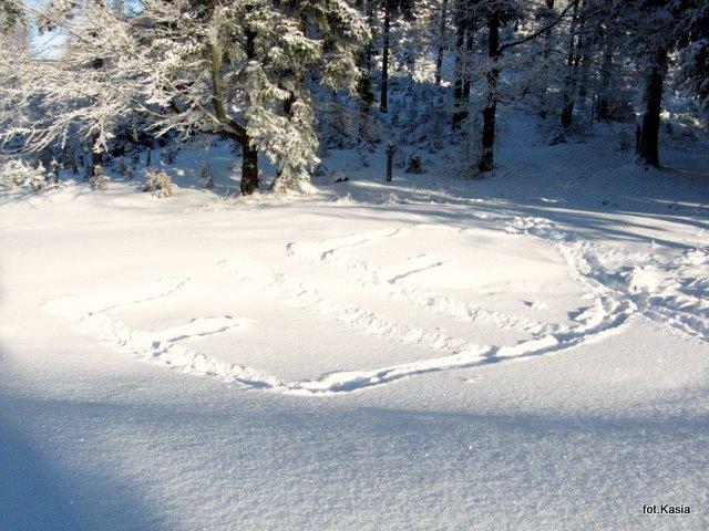 nieudeptany śnieg wyzwala manualne zdolności