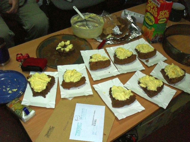 Ciasto było...