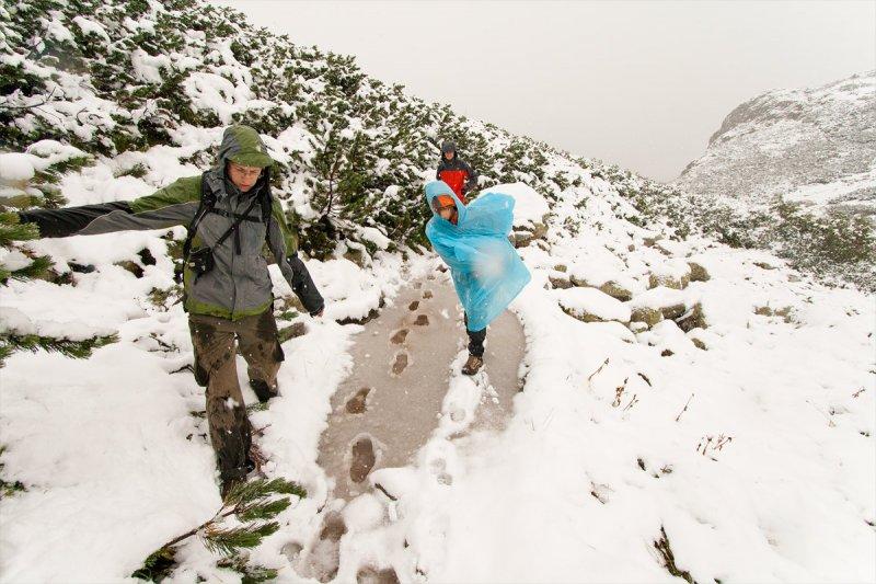 Fify Tańczą Na Śniegu